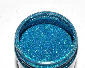 Bluebery pie glitter nail polish