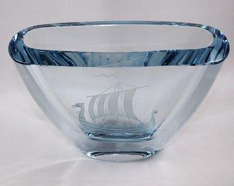 Strombergshyttan Glass Vase