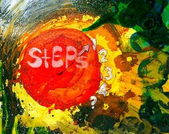 My Step Sign - 11x14 Copy - 2013 - ADawningMissionArt
