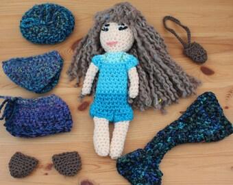 Dress up mermaid doll