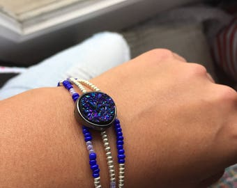 Three-strand Galaxy Bracelet