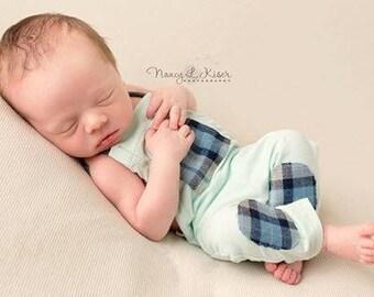 Brian Romper Newborn Photography Prop
