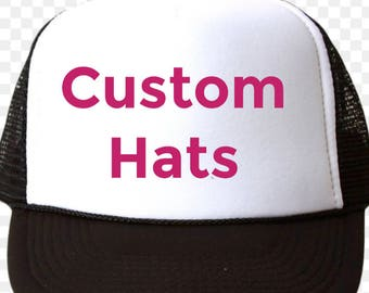 Custom Trucker Hats Make Your Own