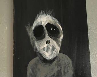 Dark Eye Painting