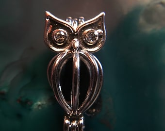 Owl Cage Pendant