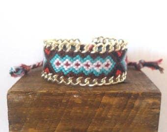 Mexican Brown macrame bracelet