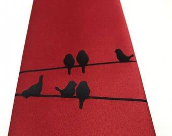 Birds Necktie