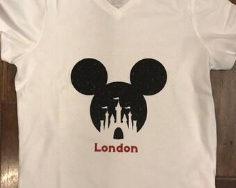 Disney Mickey Ears and Castle