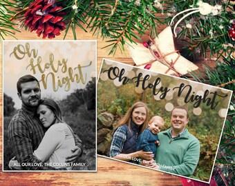 Christmas Card - Oh Holy Night