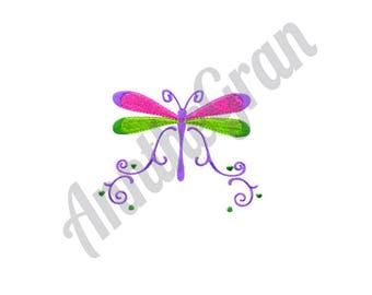 Dragonfly - Machine Embroidery Design