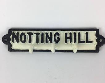 Notting Hill cast iron key holder
