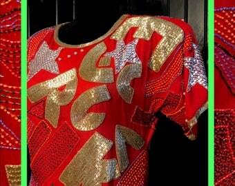 vtg rock star dress//brand new
