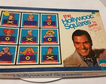 Hollywood Squares vintage board game - 1974 - complete