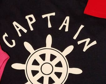 Men's Captain Nautical Tee Shirt