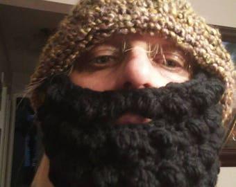 Beard with beanie. Adult med.