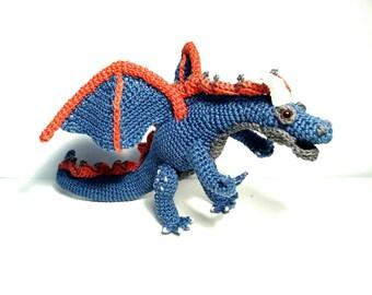 Dragon amigurumu crochet gift