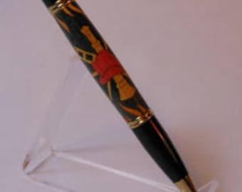Gatsby 24kt Gold Fireman Twist Pen