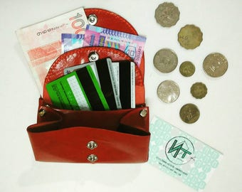 Leather coins bags with multi-usage*nnat_square