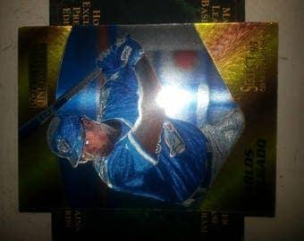 1995 select carlos Delgado  rare card