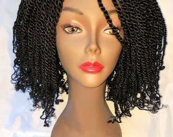 Kinky Twist Wig (Black)