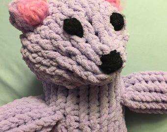 Knit teddy bears