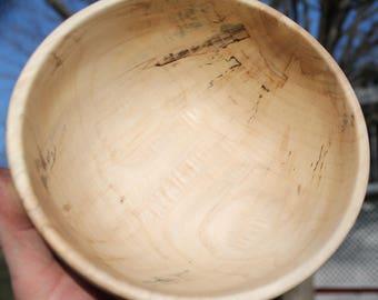 Spalted Poplar Wood Bowl