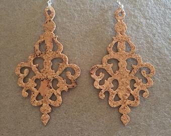 Sardinian Cork earrings