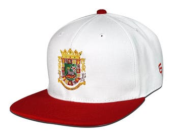 Go Rep Puerto Rico Snapback Hat Cap