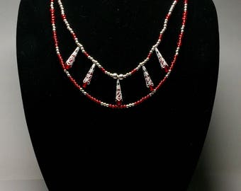 Royally Red Necklace