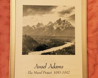 Framed Ansel Adams Print
