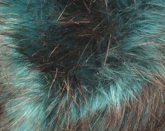Turquoise Faux Fur