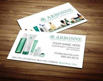 Arbonne Business Card Design 4