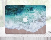 Wave Splash Sticker Mac Air 13 Mac Book Air Sleeve For Pro Retina 13 Sleeve Blue MacBook 12 Case For Laptop Ocean Skin Mac Air 11 ES0119