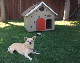 Dog House Outdoor A-Frame for your Special Furry Friend