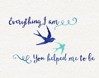 Everything I am | Mother's Day Image