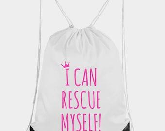 Nylon Drawstring Backpack, Kids Bag, Girls Drawstring Bag, Beach Bag, Drawstring Bag, Toddler Bag, Feminist Bag, Pink Bag, Feminist, Summer