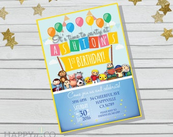 DIGITAL Little Baby Bum Invitation, Little Baby Bum Party Backdrop, Toppers, Gift Tags, Little Baby Bum Party, Little Baby Bum, LBB Party