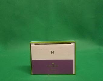 Kate Spade New York Dipped Initial H Card Set