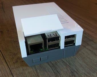 3D Printed NES Raspberry Pi Case - Compact