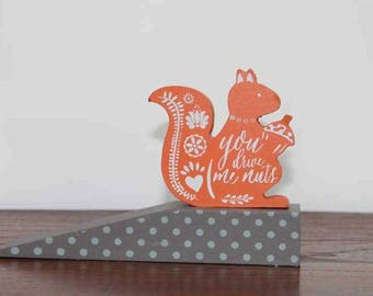 Red Squirrel Formby Doorstop
