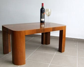 Art Deco Coffee Table. Occasional Table or Wine Table. Handmade from reclaimed Art Deco furniture.