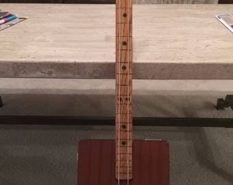 2-String Cigar Box Bass Guitar