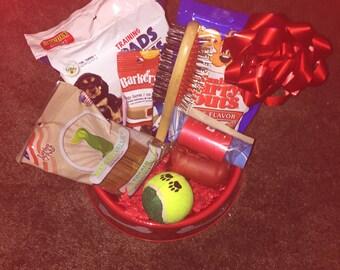 Furry Friend Gift Basket Set