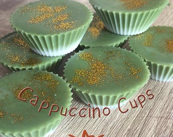 Cappucino cups. Wax melts. Wax tarts. Soy wax