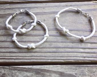 Infinity knot Nautical Bracelet