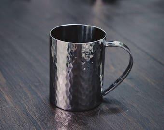 Handmade Stainless Steel Mug