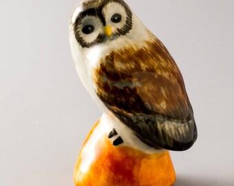 Owl. Figurine. ceramics. home decor. art