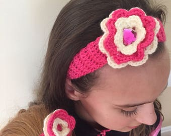 Dolly and Me Crochet Headbands
