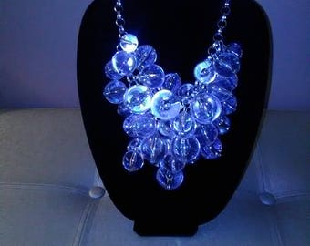 Clear Bubble Necklace