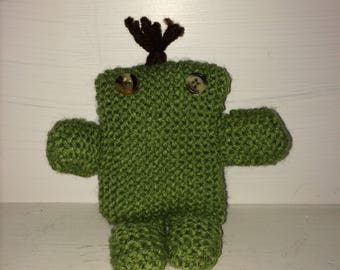 Fig the Mini Knitted Monster